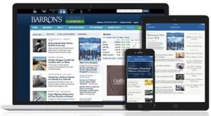 Barrons News Digital Subscription 1-year |Shared| iOS/Android/PC - Anywhere