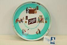 "New listing Vintage Jos Schlitz Brewing Co 1962 Schlitz Metal Beer Tray 12"" diameter Vtg"