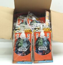 New Joblot 24 x Disney Star Wars Water Bottle With Clip Hook Foldable Canteen