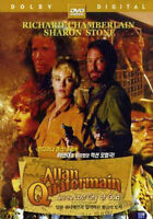 Allan Quatermain and the Lost City of Gold (1986) Sharon Stone DVD *NEW