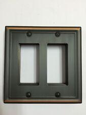 Switch Plate Chelsea Aged Bronze RR (Double Rocker) Wall Plate Wallplate