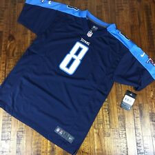 Nike Tennessee Titans Marcus Mariota #8 Jersey Blue Youth Size XL 18 20
