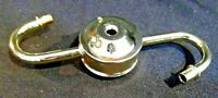 Lamp Top Repair Part Polished Brass Finish for 2 Sockets S Arms