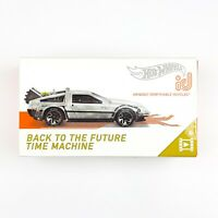 Hot Wheels ID Back To The Future DELOREAN Time Machine Collectable Car FXB44 NEW