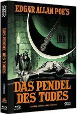 Mediabook el Péndulo Des Todes Vincent Price Pit y The Pendulum Blu-Ray DVD Caja