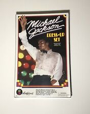 Michael Jackson DRESS-UP SET official by Colorforms 1984 plastic outfits