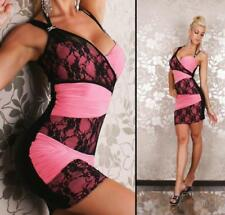 One Shoulder Asymmetric Regular Size Dresses for Women