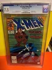 Marvel Comics UNCANNY X-MEN # 256 CGC 7.5 ! wolverine ! 1989 1st Modern PSYLOCKE