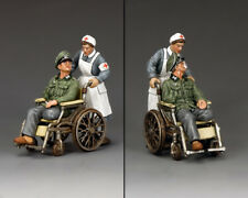 KING AND COUNTRY WW2 Disabled Officer & Nurse WH009 WH09