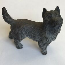 Antique Miniature Austrian Cold Painted Bronze Dog Manner Of Bergman