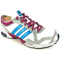 Adidas Marathon 10 Women's Sz 8.5 White Purple Blue Sport Running Shoes G24156