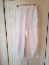 Fashion Seal Healthcare Large White Nursing Scrub Pants (NEW)