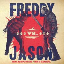 FREDDY VS JASON OST Movie Soundtrack Red Green Silver Color Mondo Vinyl LP