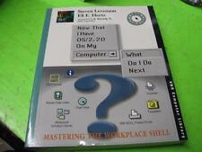 NOW THAT I HAVE OS/2 2.0 ON MY COMPUTER WHAT DO I DO NEXT - BOOK LEVENSON /HERTZ