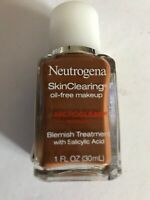 Set Of 1 Neutrogena Skin Clearing oil-free Makeup  135 Chestnut -Expiration-