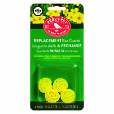 Perky-Pet 205Y Replacement Yellow Bee Guards for Feeders 203C and 203Cp, 4 Piece