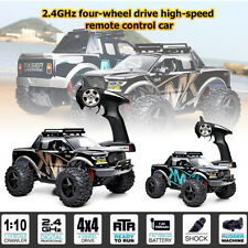 1:10 Electric 4WD RC Monster Truck Off-Road Vehicle Remote Control Buggy Car Toy