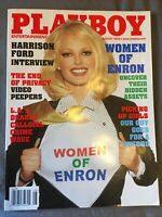 PLAYBOY MAGAZINE - AUG 2002 - TENISON TWINS/CHRISTINA SANTIAGO/ANGELA LITTLE