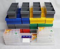 Lego Brick Storage Mega Pack - 27 Piece - Fischer Plastic - Australian Made