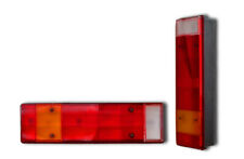 2 x 12V 24V REAR LIGHTS TAIL LAMPS COMMERCIAL VEHICLES 7 FUNCT TRUCK UNIVERSAL
