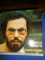 dischi vinile 33 giri-LP -antonello venditti - canzone d'autore