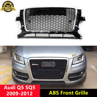 Q5 Grille Front Mesh Grill for Audi 8R SQ5 2009-2012 To RSQ5 Style Chrome Frame