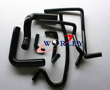 Silicone Radiator Heater Hose Kit for Holden VR VS VN VP V8 5.0L SS 304 5L BLK
