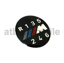 Botón Interruptor Pomo Del Cambio Cubierta Emblema Tapa BMW M 3ER 5ER 6ER X3 X5