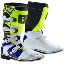GAERNE SGJ Kinder Motocross Enduro Quad Stiefel Gr. 37 w-b-neon Husqvarna Husky