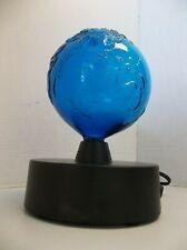 RARE LumiSource Blue Planet Electra Plasma Lamp Glass Art Works Great