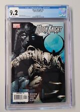 MOON KNIGHT #1 CGC 9.2  - WHITE PAGES - D.FINCH ART - New Case
