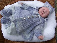 IO credo * * in * ANGELI venerdì'S CHILD 4 Pce Set Blu per un neonato/RINATO Baby
