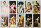 1976-77 Topps Basketball Lot of 10 Tall Cards