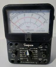Simpson 260 Series 7 Vom Multimeter Sold As Is For Parts Or Repair