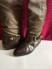 John Deer Boots Unisex JD- 930182- Size 8  1/2 Brown Leather