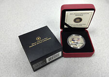 2013 Royal Canadian Mint $0.25 Colored Coin: Ducks of Canada - Wood Duck