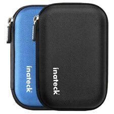 Custodia esterna per Hard Drive Disk Astuccio Protettivo Antiurto con Zip nero
