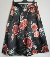 New Marks & Spencer Floral Print Midi Skirt -  UK Size 8 - 18