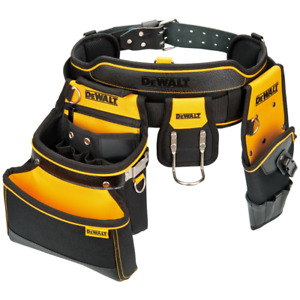 DeWALT DWST81228-8 Multi Purpose Tool Belt Storage Organizer Pouch Set
