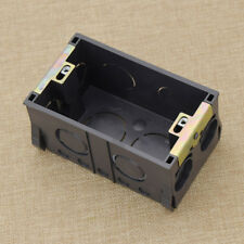 New Plastic Black US118MM Inside Wall Mounting Box For Livolo Standard Switch
