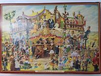 Waddingtons De Luxe 2000 Puzzle  The Travelling Magistrates  Vintage 1988 Jigsaw