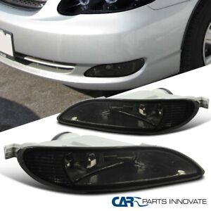 For 02-04 Toyota Camry 05-08 Corolla Smoke Fog Lights Driving Bumper Pair+Switch