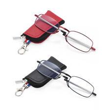 mit Keychain Case Brillen mit blauem Licht Leser Brille Faltbare Lesegläser