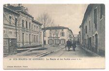 les roches de condrieu  ,la mairie et la écoles
