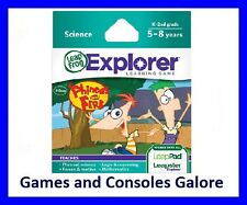 NEW! Leap Pad Ultimate Game, LeapPad Phineas and Ferb Leapfrog