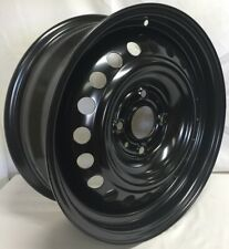 16 Inch 4 Lug Black Steel Wheel Fits Sentra 2007 thru 2012 WE37426N New