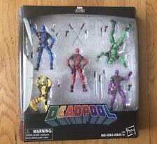 "Marvel Legend's Deadpool Rainbow Squad 5 Pack 3.75"" Action Figures Weapons C3989"
