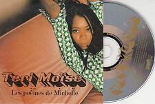 CD CARTONNE CARDSLEEVE TERI MOISE LES POEMES DE MICHELLE 2T 1996