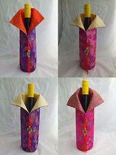 Wholesale 5pcs Handmade Jacquard Chinese Class Cloth Wine Bottle Covers 1101-12