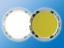 POWER LED | Rund | Ø 40,5mm | Tageslicht Weiß | 5500K | Direktbetrieb an 12VDC